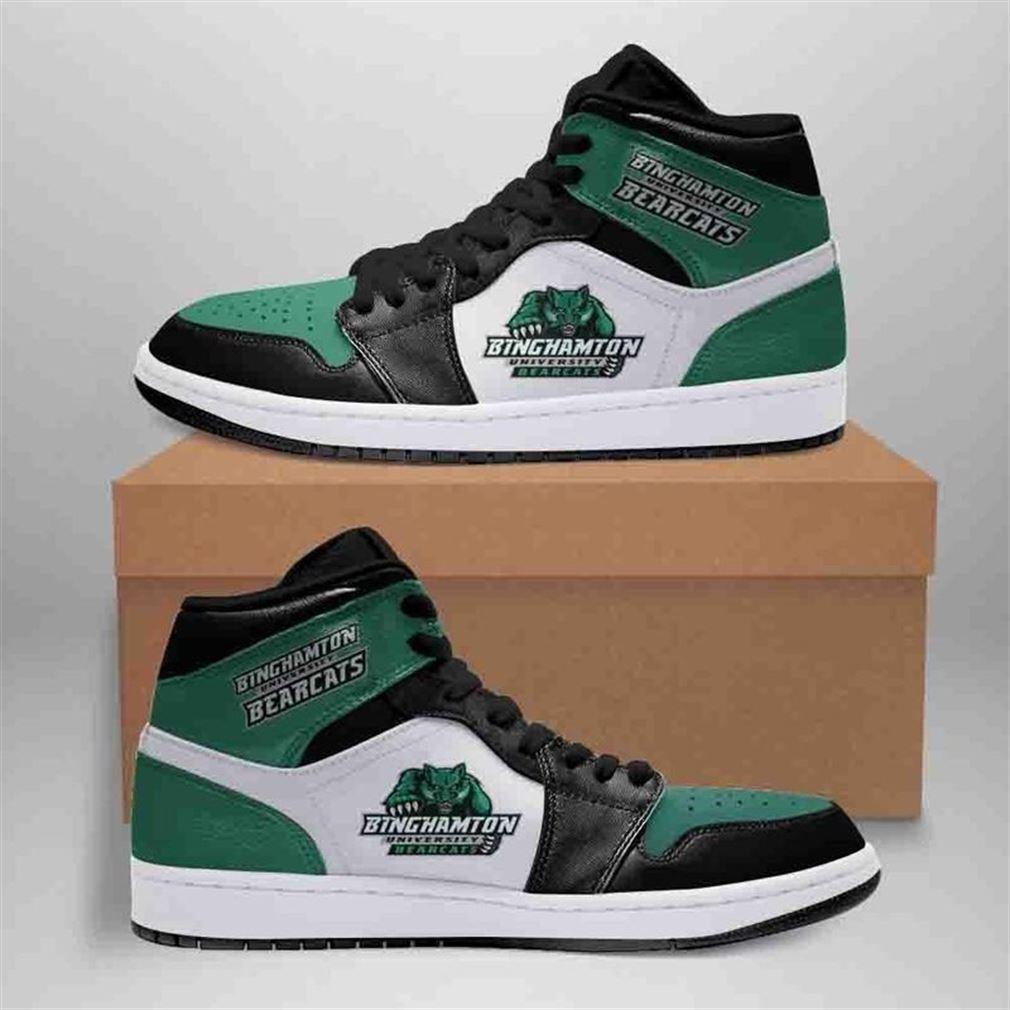 Inghamton Bearcats Jordan Shoes Sport Custom Jordan Shoe Sneaker Sneaker Boots Shoes
