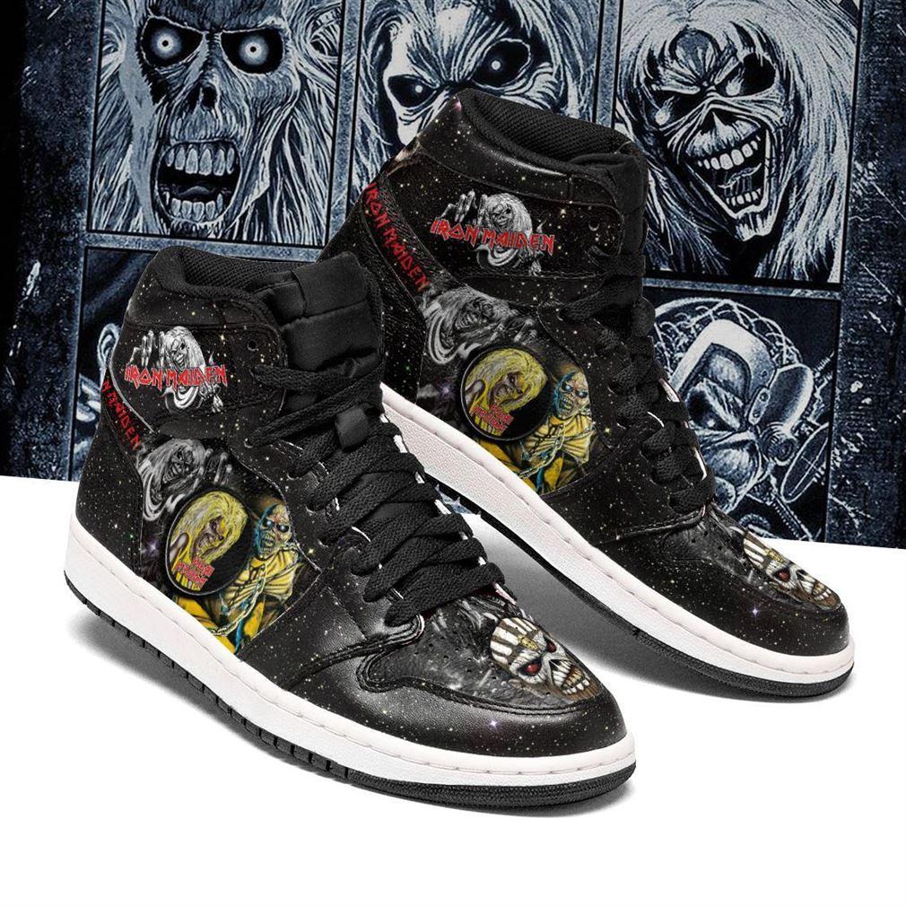 Iron Maiden Rock Band Air Jordan Shoes Sport Sneaker Boots Shoes