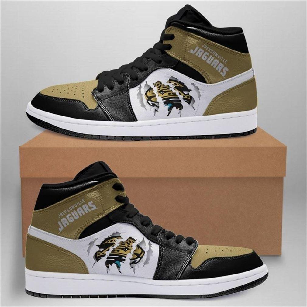 Jacksonville Jaguars Nfl Jordan Shoes Sport Custom Jordan Shoe Sneaker Sneaker Boots Shoes