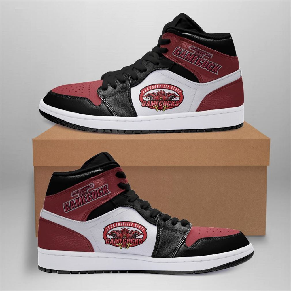 Jacksonville State Gamecocks Ncaa Air Jordan Shoes Sport Sneaker Boots Shoes