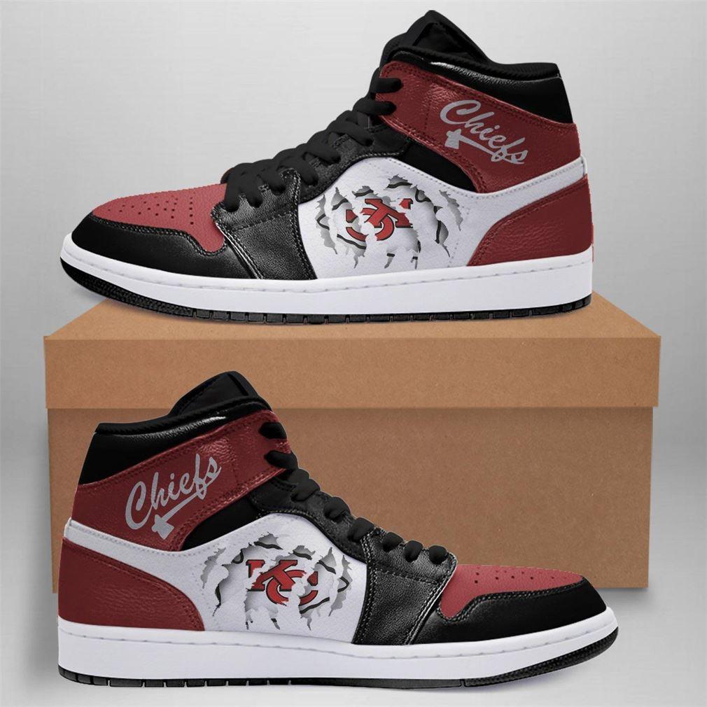 Kansas City Chiefs Nfl Air Jordan Shoes Sport Outdoor Sneaker Boots Shoes