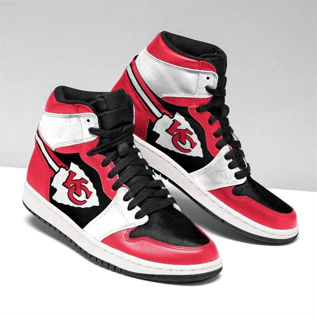 Kansas City Chiefs Nfl Football Air Jordan Shoes Sport V2 Sneaker Boots Shoes