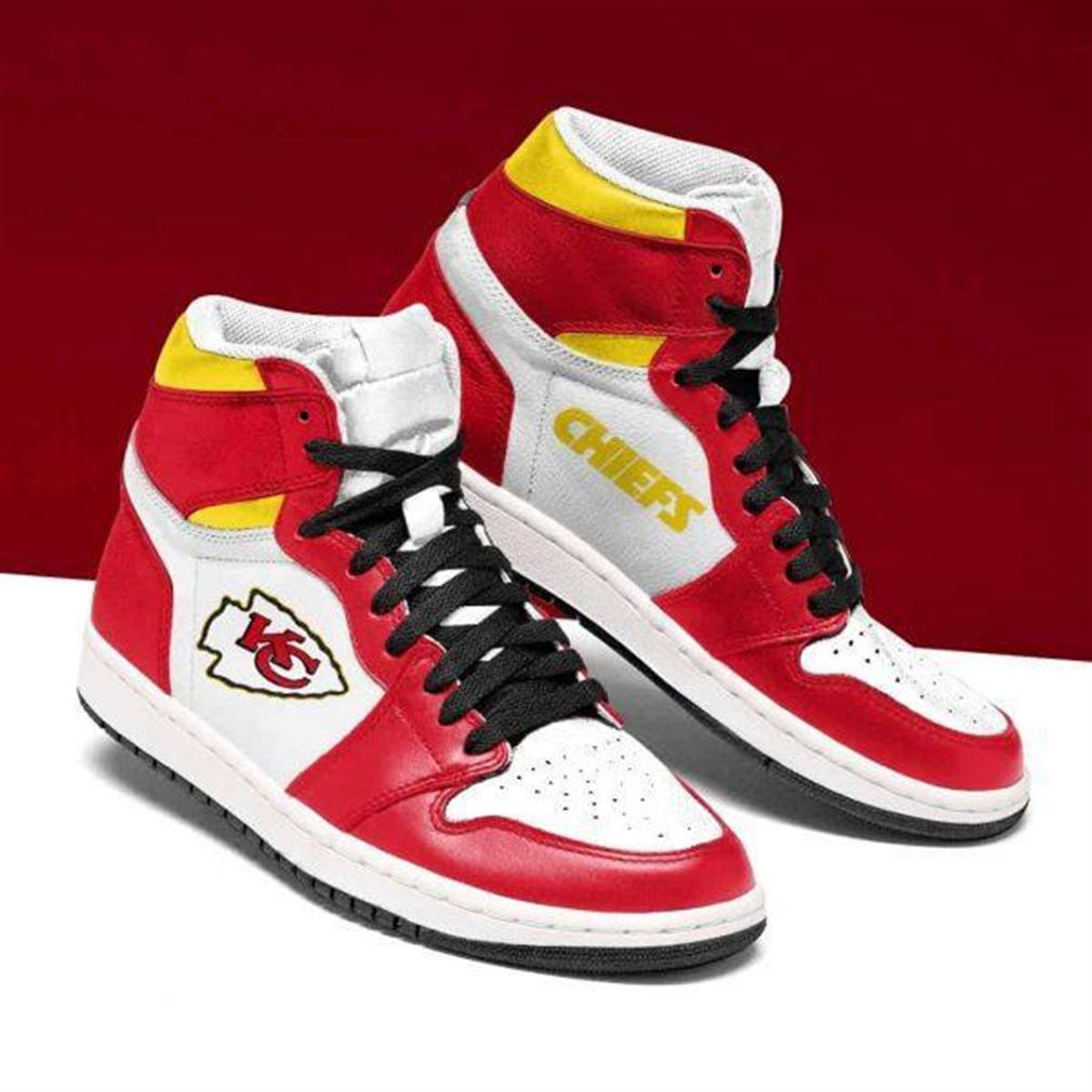 Kansas City Chiefs Nfl Football Air Jordan Shoes Sport Sneaker Boots Shoes