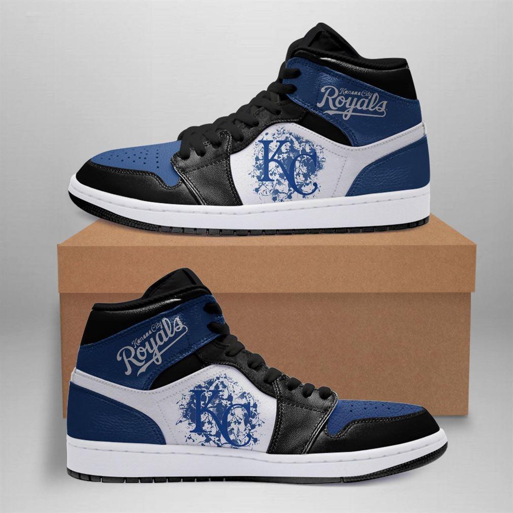 Kansas City Royals Mlb Air Jordan Basketball Shoes Sport V3 Sneaker Boots Shoes