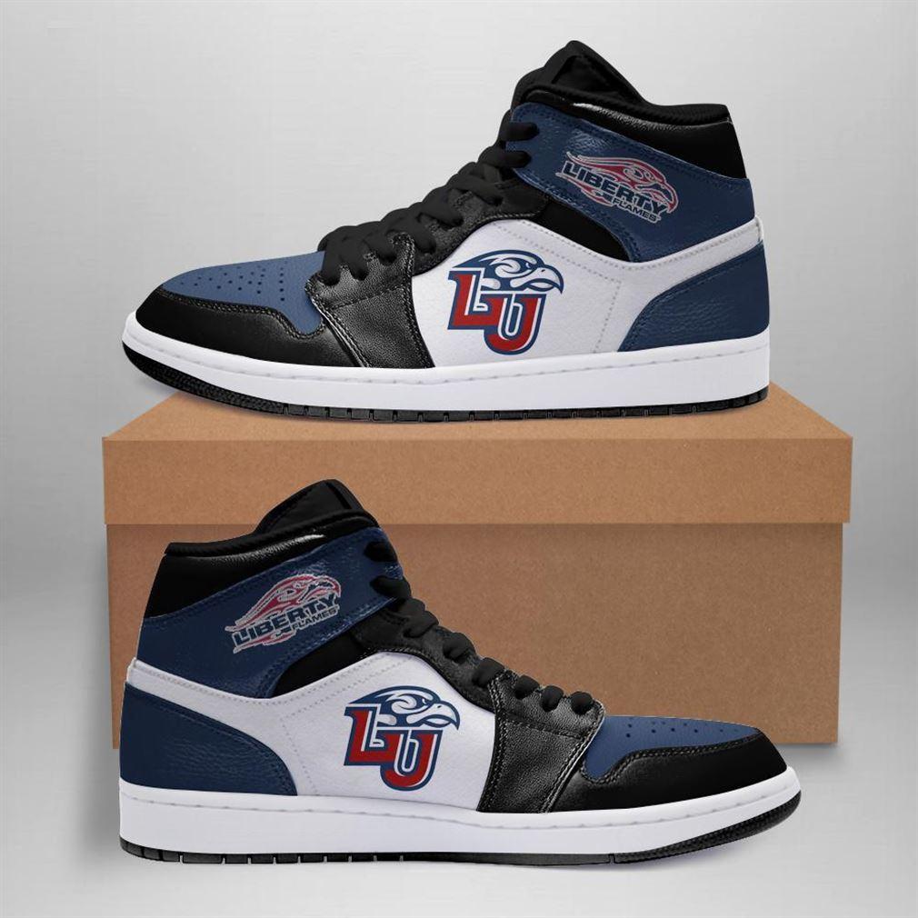 Liberty University Flames Ncaa Air Jordan Shoes Sport Sneaker Boots Shoes