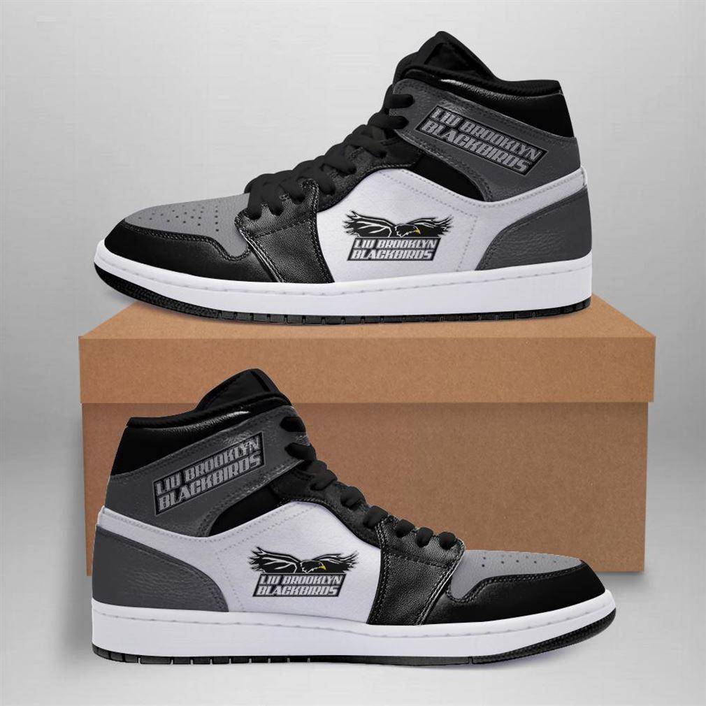 Liu Brooklyn Blackbirds Ncaa Air Jordan Shoes Sport Sneaker Boots Shoes