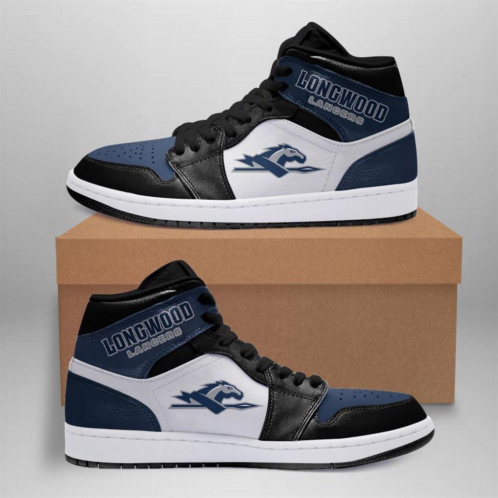 Longwood Lancers Ncaa Air Jordan Shoes Sport Sneaker Boots Shoes