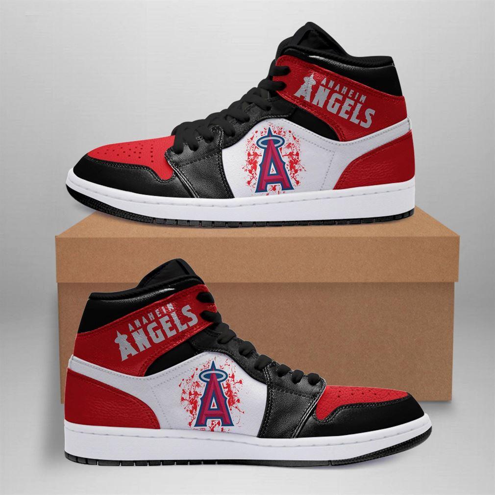 Los Angeles Angels Mlb Air Jordan Basketball Shoes Sport Sneaker Boots Shoes