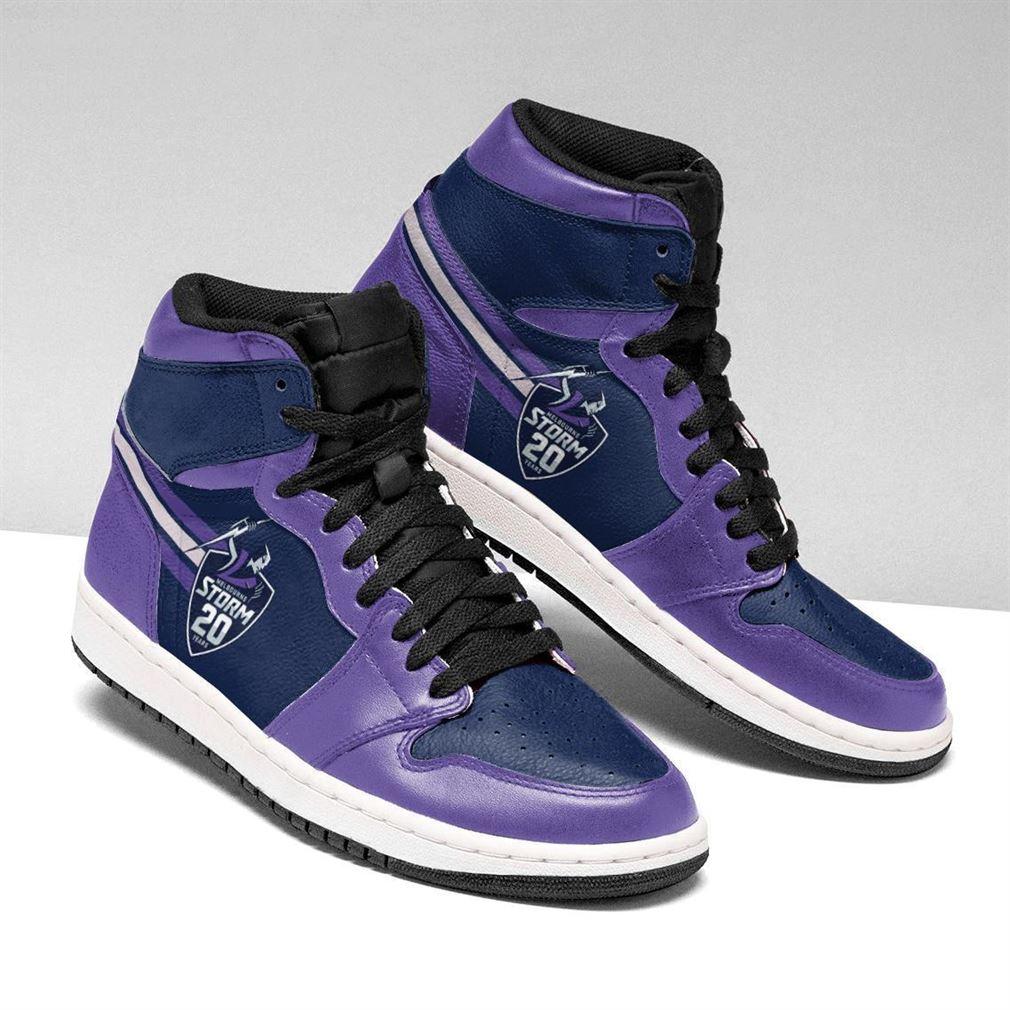 Melbourne Storm Nrl Air Jordan Shoes Sport V3 Sneaker Boots Shoes