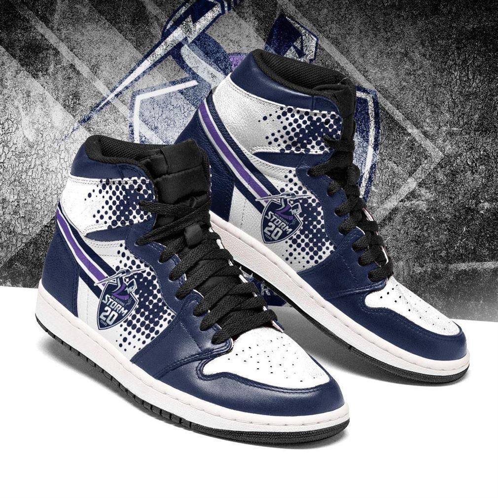 Melbourne Storm Nrl Air Jordan Shoes Sport Sneaker Boots Shoes