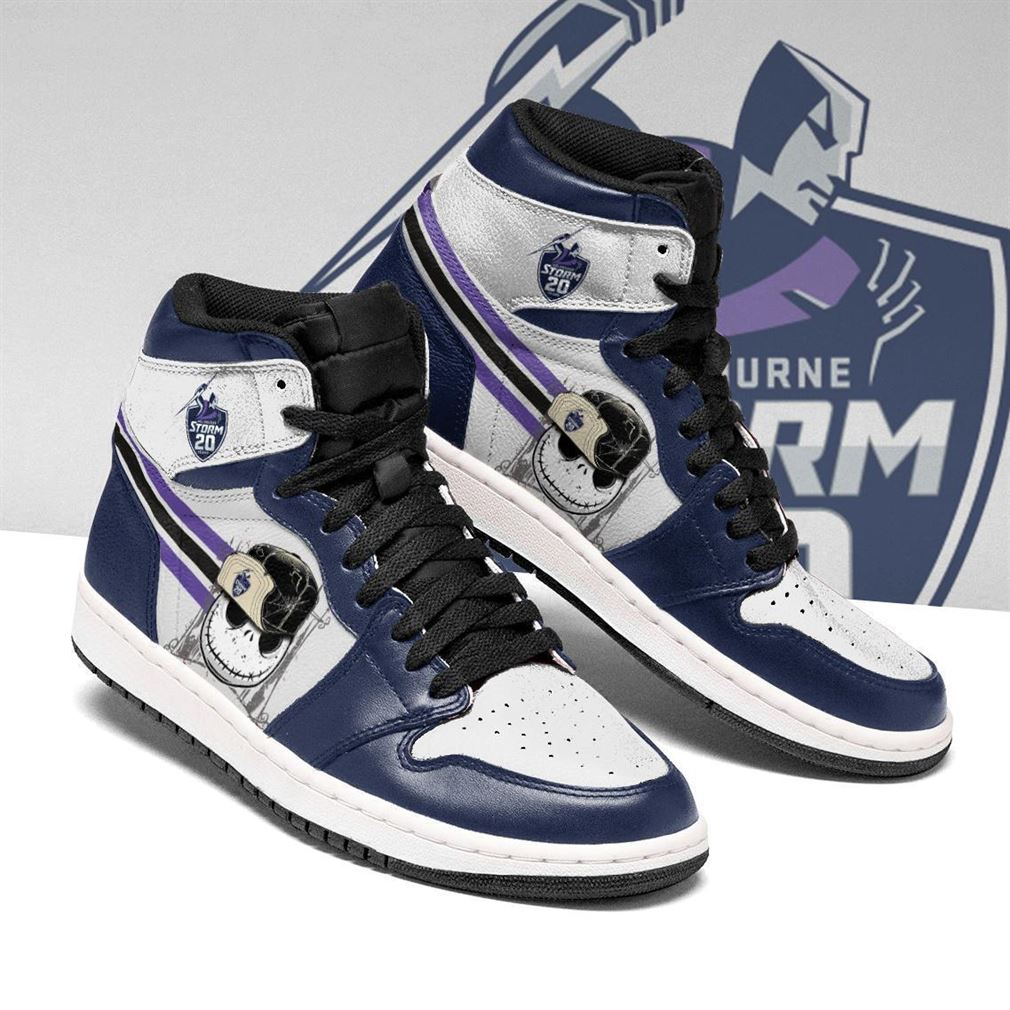 Melbourne Storm Nrl Football Air Jordan Shoes Sport V4 Sneaker Boots Shoes