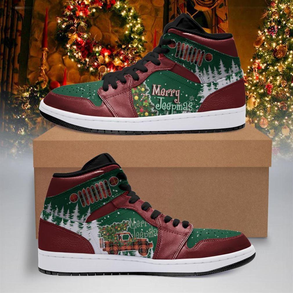 Merry Jeepmas Air Jordan Shoes Sport Sneaker Boots Shoes