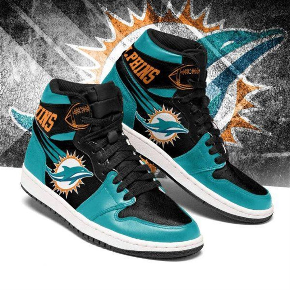 Miami Dolphins Nfl Football Air Jordan Shoes Sport V3 Sneaker Boots Shoes