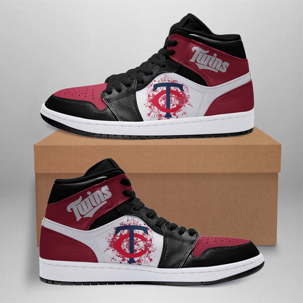 Minnesota Twins Mlb Air Jordan Basketball Shoes Sport Sneaker Boots Shoes