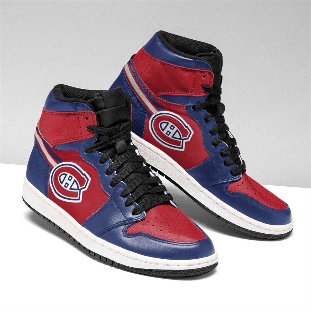 Montreal Canadiens Nhl Air Jordan Shoes Sport V2 Sneaker Boots Shoes