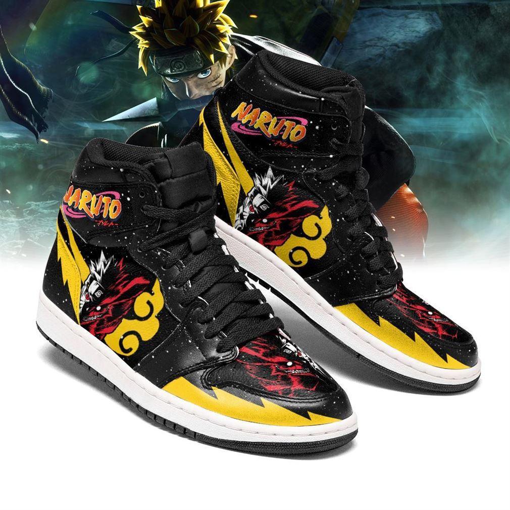 Naruto Air Jordan Shoes Sport Top Sneaker Boots Shoes