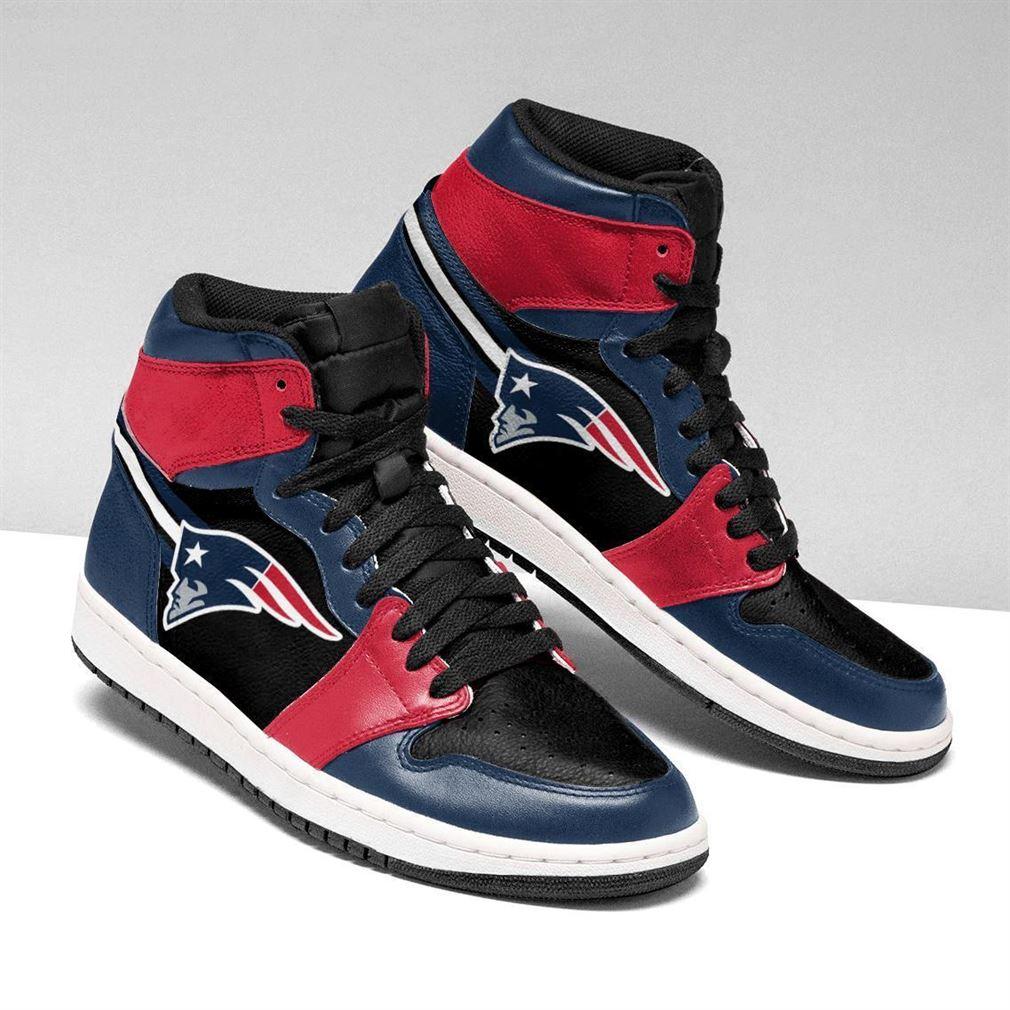 New England Patriots Nfl Football Air Jordan Shoes Sport V2 Sneaker Boots Shoes