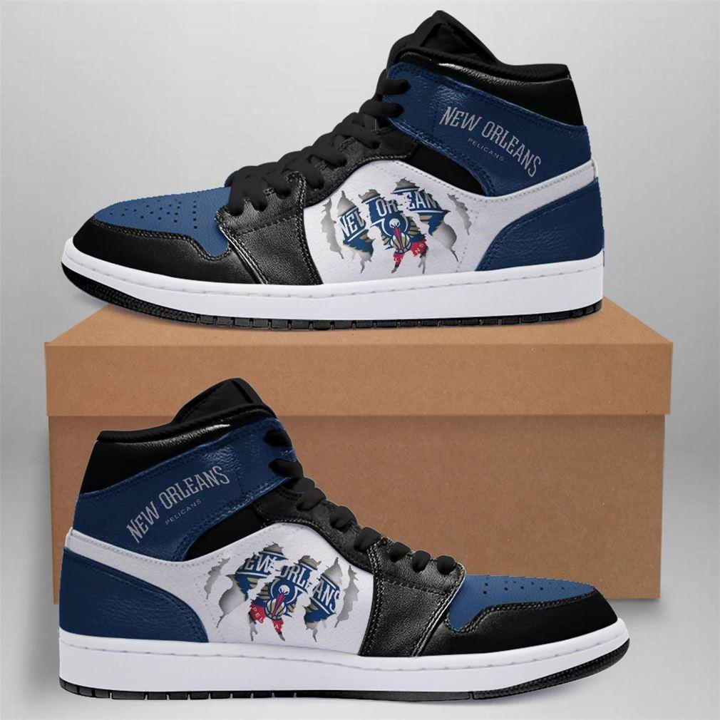 New Orleans Pelicans Nba Air Jordan Shoes Sport Sneaker Boots Shoes