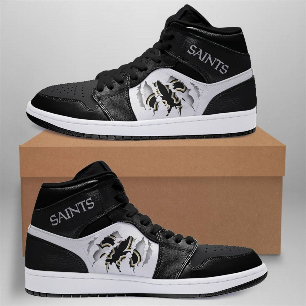 New Orleans Saints Nfl Air Jordan Shoes Sport Sneaker Boots Shoes