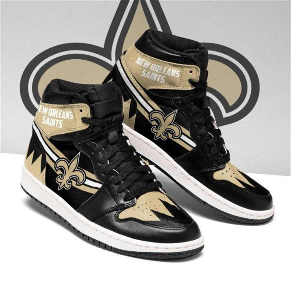 New Orleans Saints Nfl Football Air Jordan Shoes Sport Top Trends Sneaker Boots Shoes