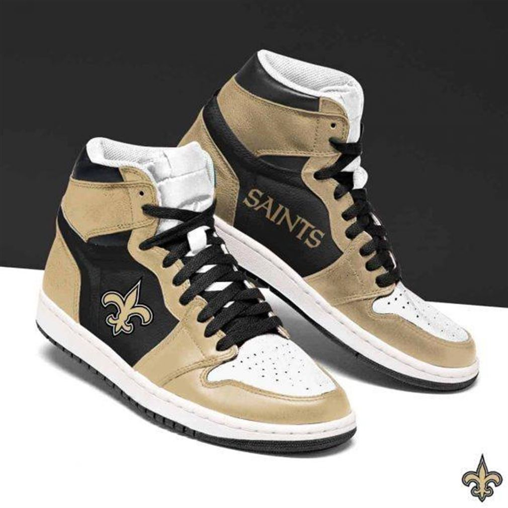 New Orleans Saints Nfl Football Air Jordan Shoes Sport Sneaker Boots Shoes