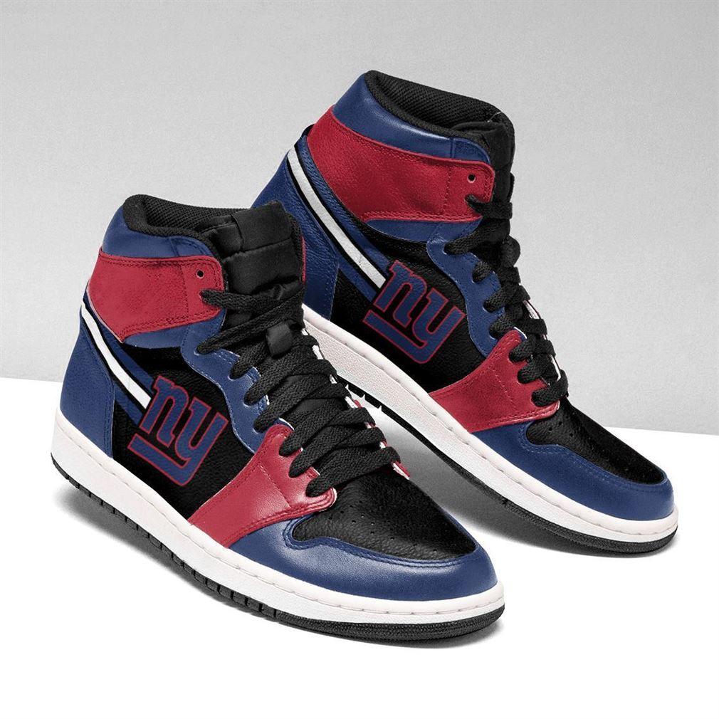 New York Giants Nfl Football Air Jordan Shoes Sport V2 Sneaker Boots Shoes