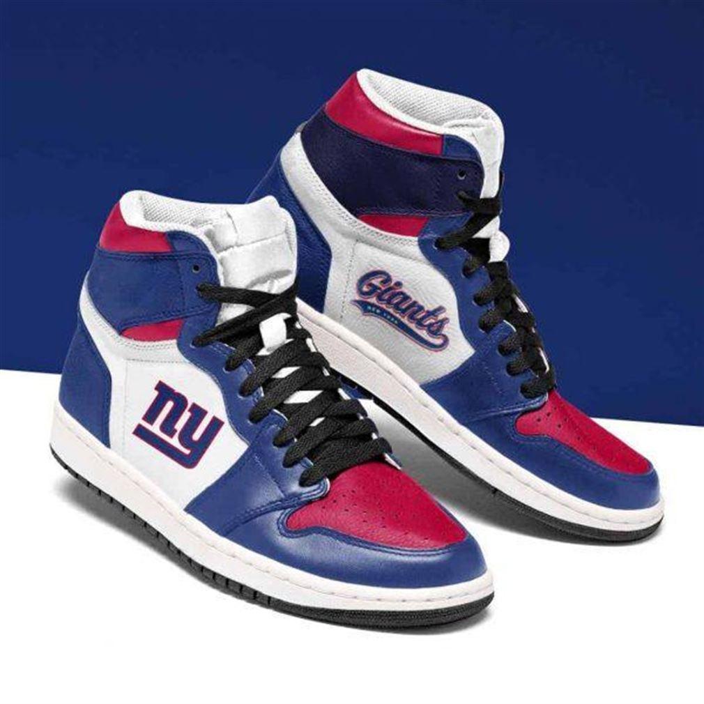 New York Giants Nfl Football Air Jordan Shoes Sport Sneaker Boots Shoes
