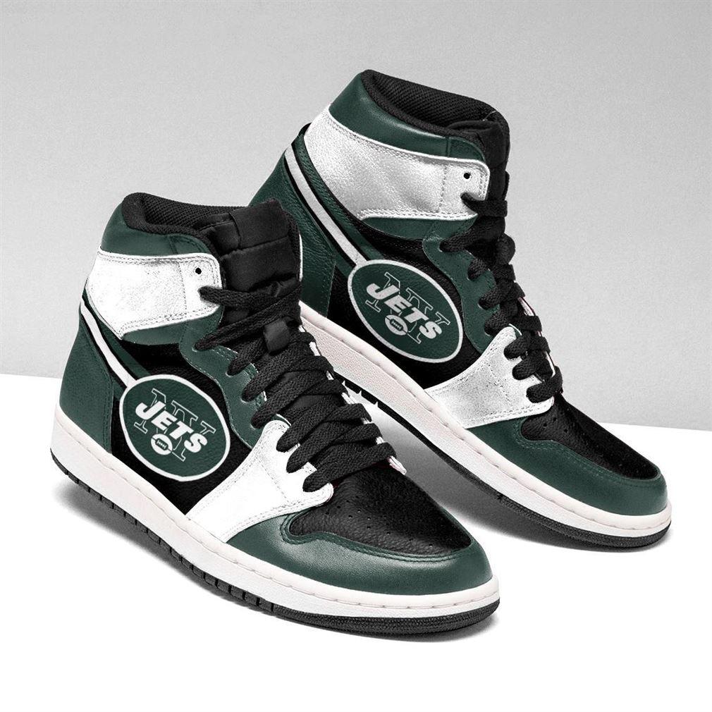 New York Jets Nfl Football Air Jordan Shoes Sport Sneaker Boots Shoes