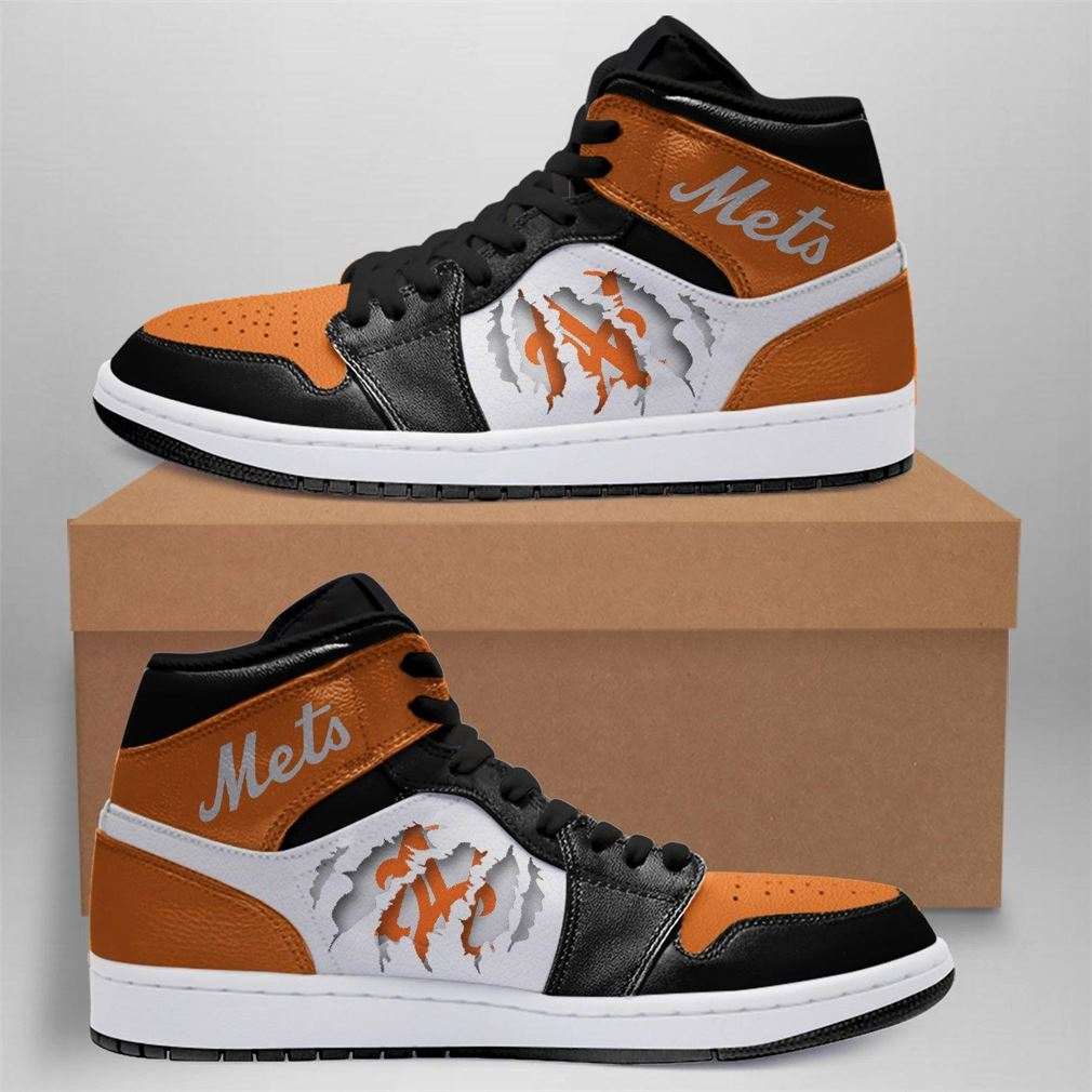 New York Mets Mlb Air Jordan Shoes Sport Outdoor Sneaker Boots Shoes