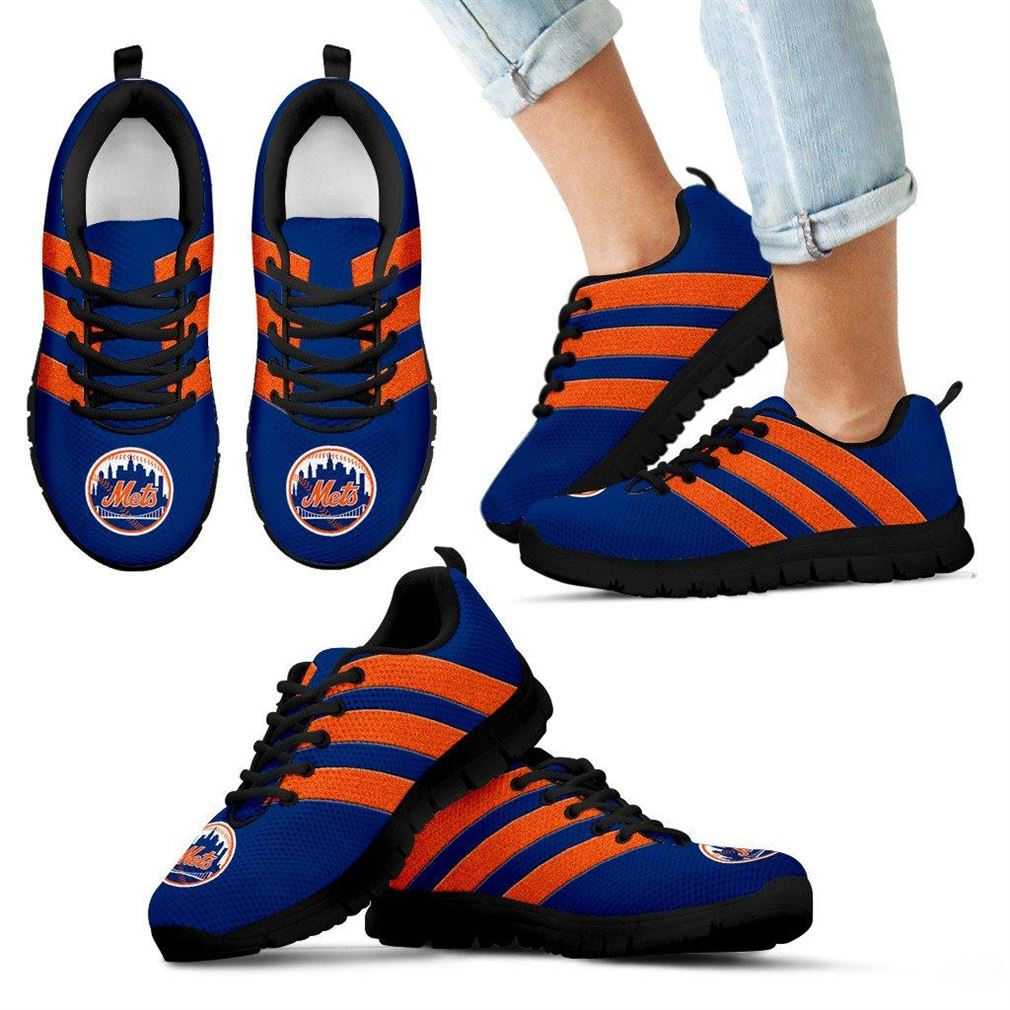 New York Mets Sneakers Splendid Line Sporty Sneaker Running Shoes Sneaker Boots Shoes