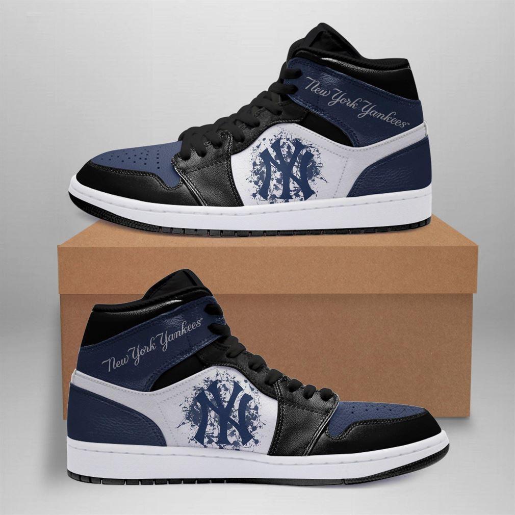 New York Yankees Mlb Air Jordan Basketball Shoes Sport Sneaker Boots Shoes
