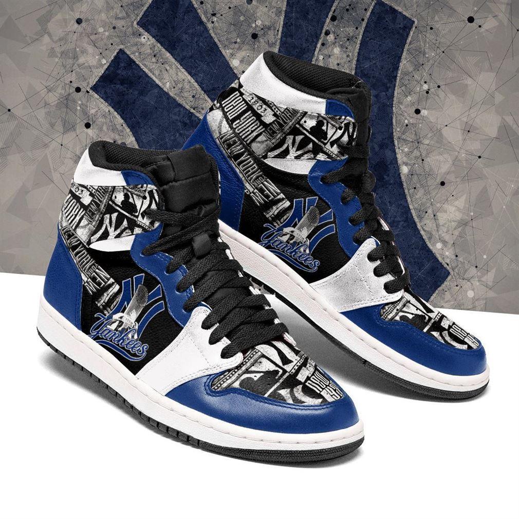 New York Yankees Mlb Baseball Air Jordan Shoes Sport V2 Sneaker Boots Shoes