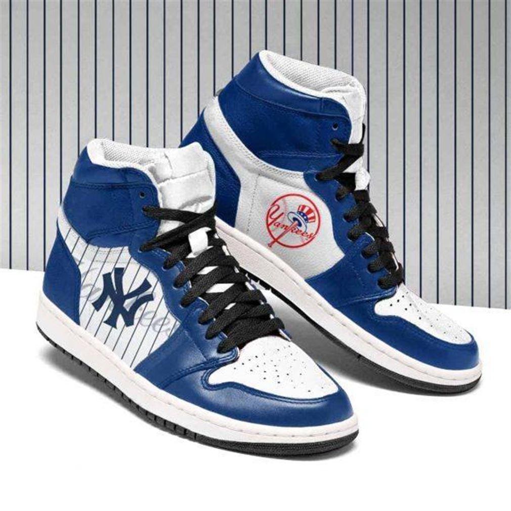 New York Yankees Mlb Baseball Air Jordan Shoes Sport Sneaker Boots Shoes