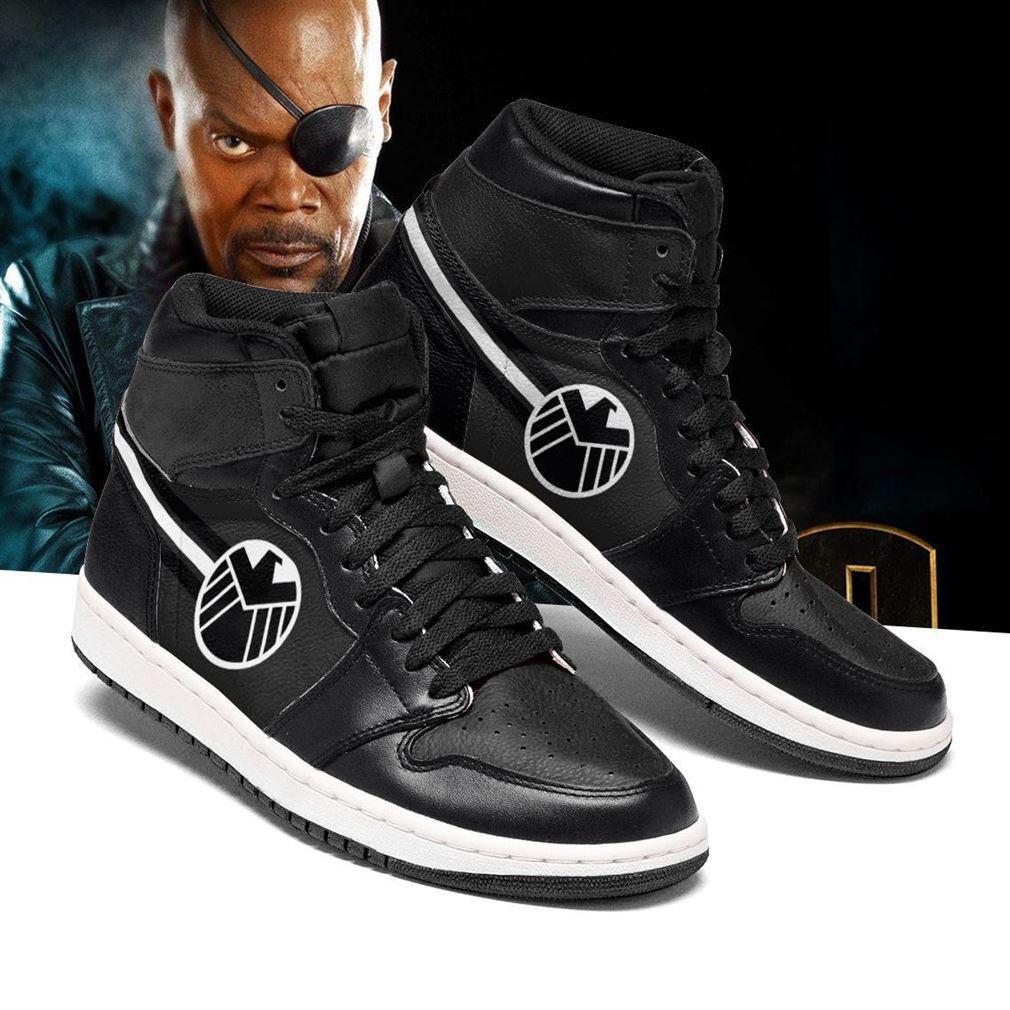 Nick Fury Marvel Air Jordan Shoes Sport V2 Sneaker Boots Shoes