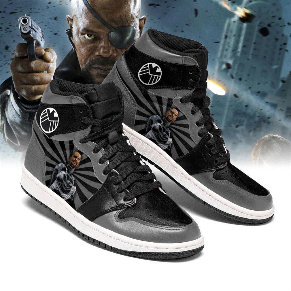 Nick Fury Marvel Air Jordan Shoes Sport V3 Sneaker Boots Shoes
