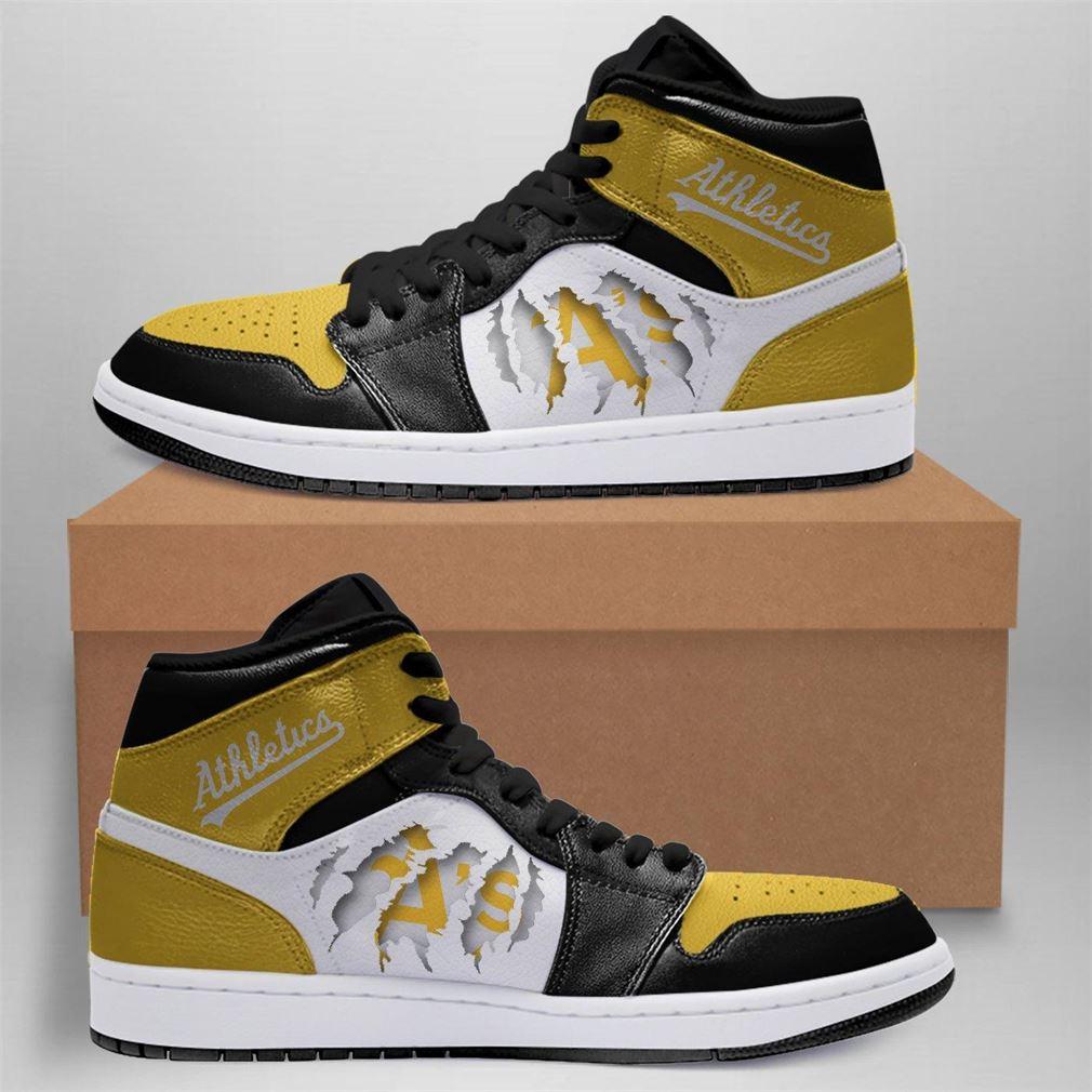 Oakland Athletics Mlb Air Jordan Shoes Sport Outdoor Sneaker Boots Shoes