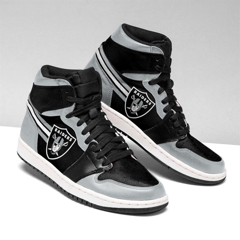 Oakland Raiders Nfl Air Jordan Shoes Sport V2 Sneaker Boots Shoes