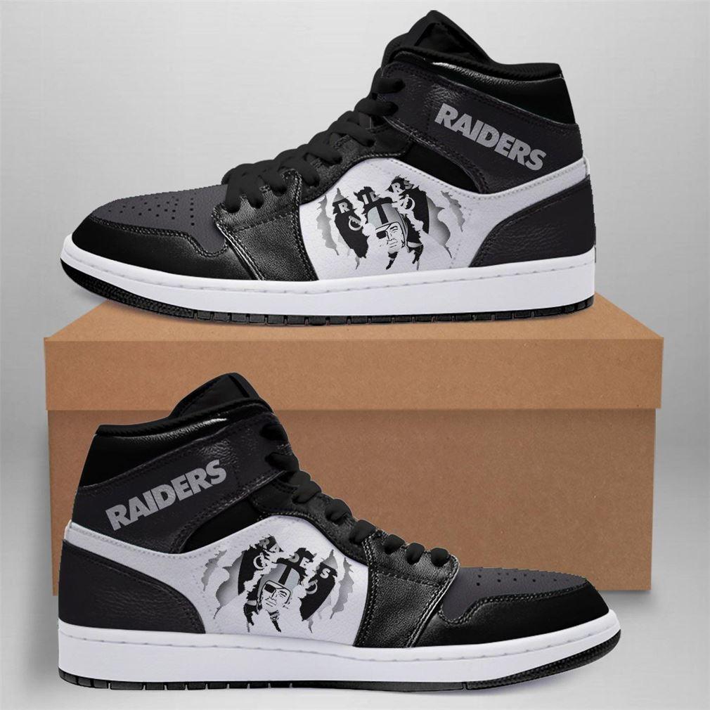 Oakland Raiders Nfl Air Jordan Shoes Sport Sneaker Boots Shoes