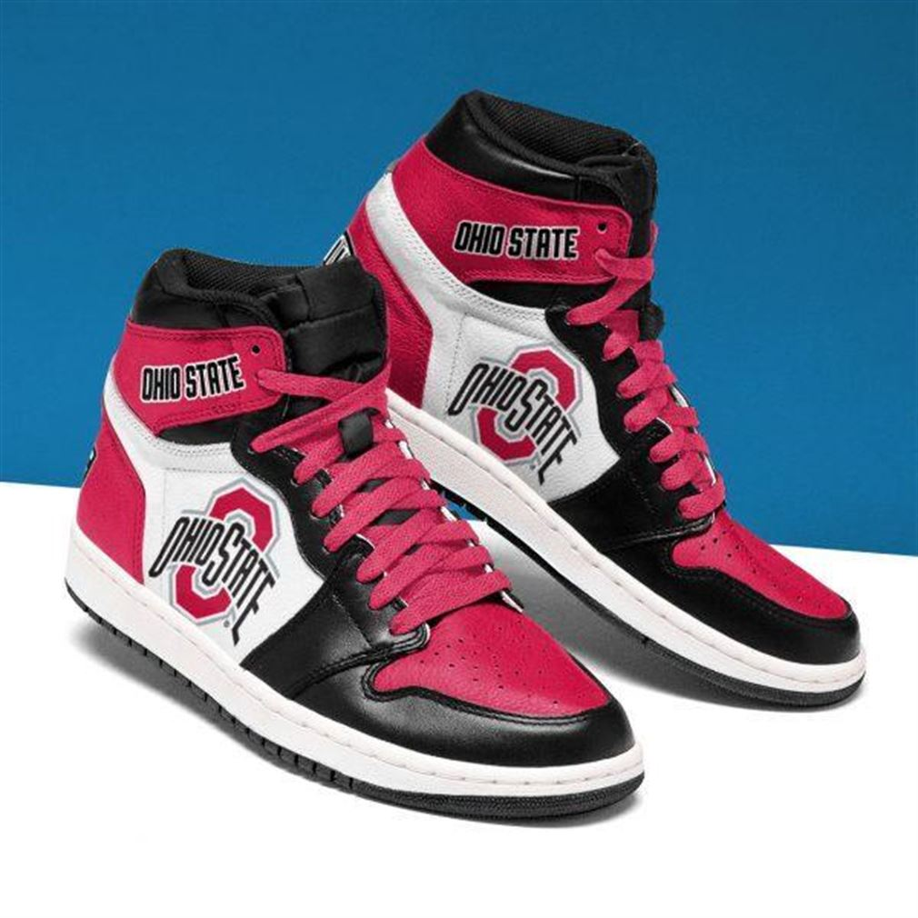 Ohio State Buckeyes Ncaa Air Jordan Shoes Sport Sneaker Boots Shoes