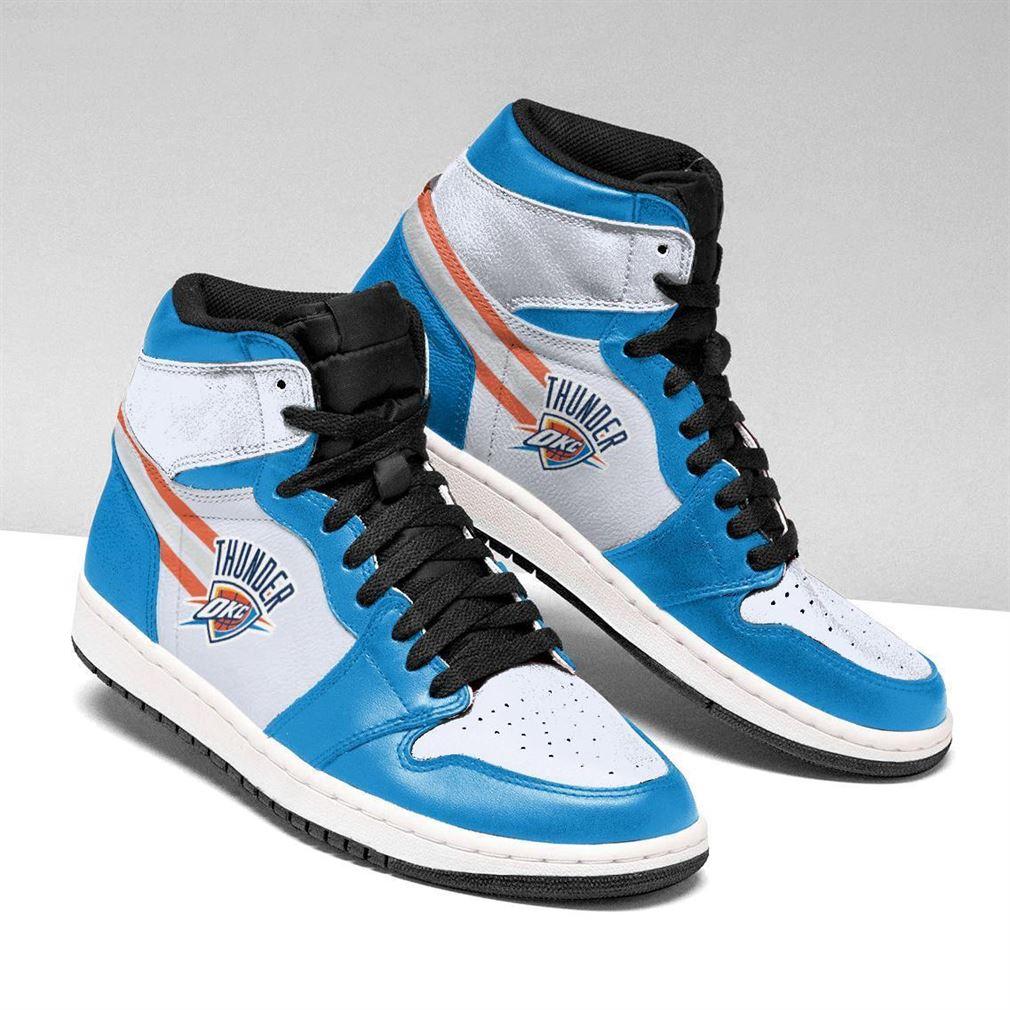 Oklahoma City Thunder Nba Basketball Air Jordan Shoes Sport Sneaker Boots Shoes