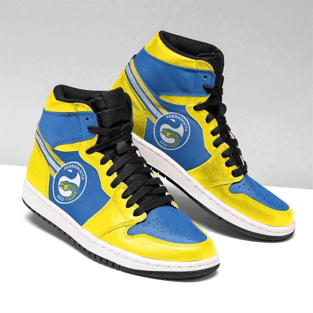 Parramatta Eels Nrl Air Jordan Shoes Sport Sneaker Boots Shoes
