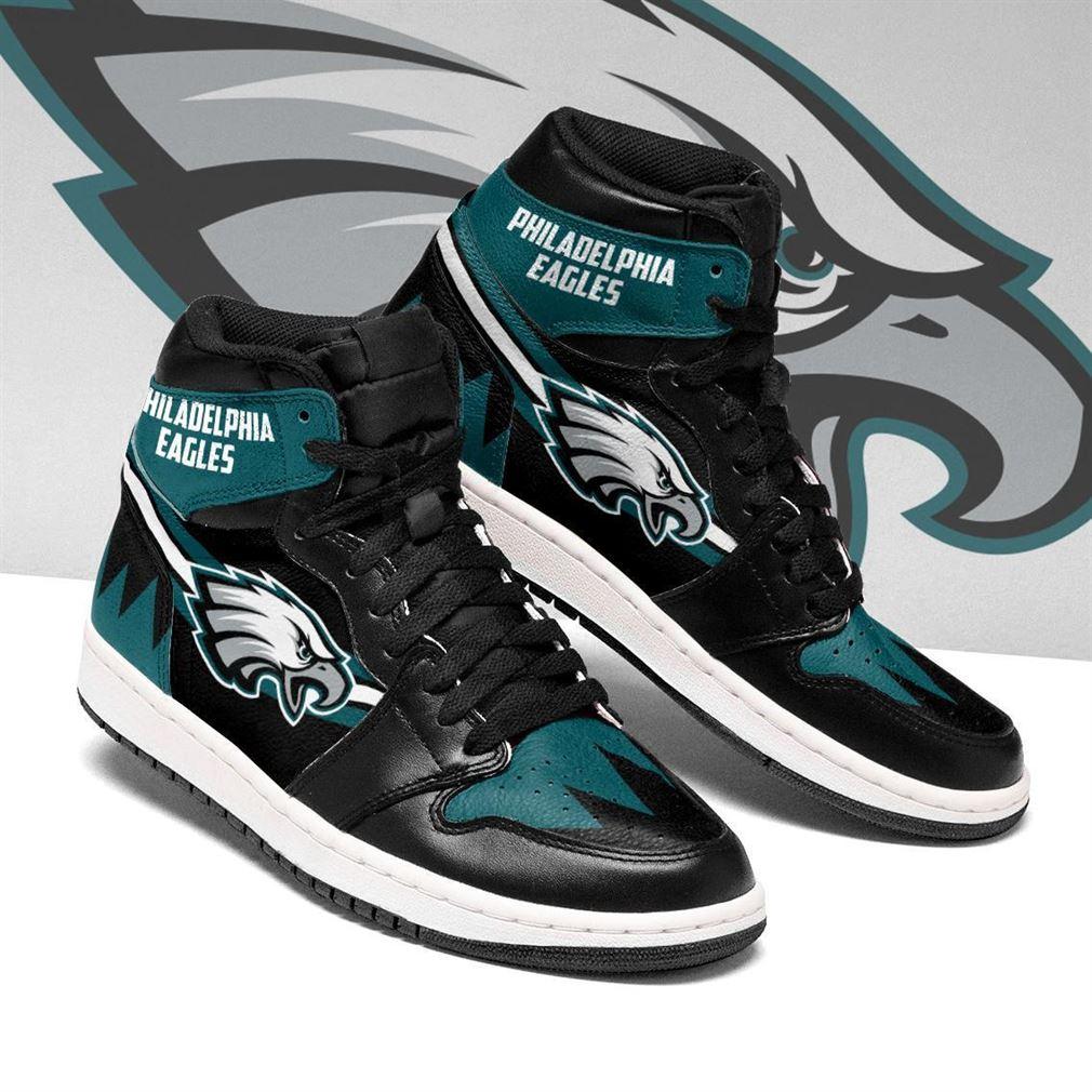 Philadelphia Eagles Nfl Air Jordan Shoes Sport V2 Sneaker Boots Shoes