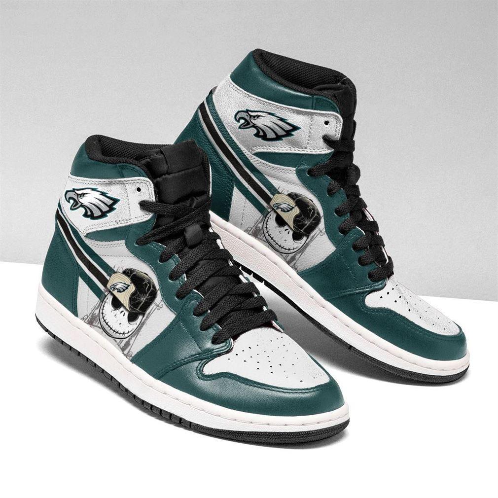 Philadelphia Eagles Nfl Football Air Jordan Shoes Sport V5 Sneaker Boots Shoes