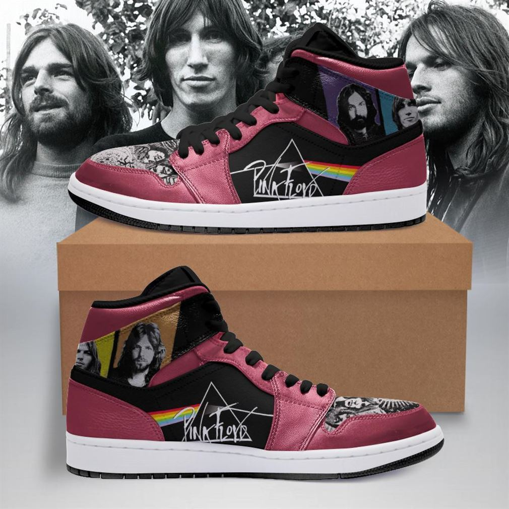 Pink Floyd Rock Band Air Jordan Shoes Sport Sneaker Boots Shoes