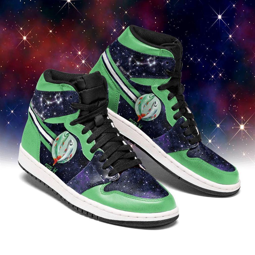 Pisces Zodiac Air Jordan Shoes Sport Sneaker Boots Shoes