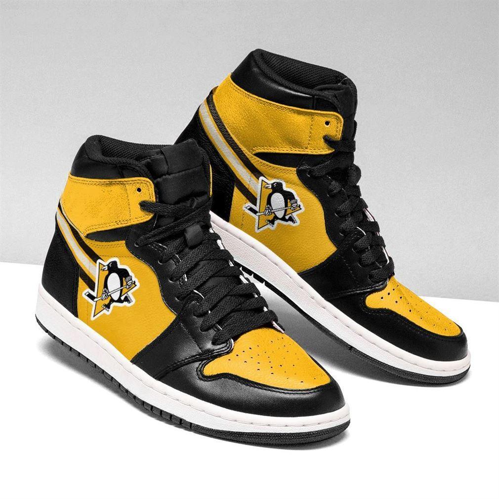Pittsburgh Penguins Nhl Air Jordan Shoes Sport Sneaker Boots Shoes