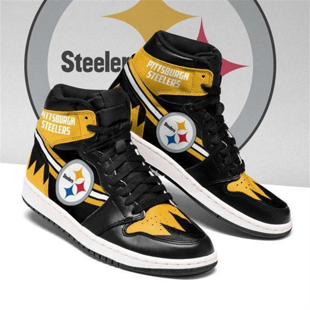 Pittsburgh Steelers Nfl Football Air Jordan Shoes Sport V6 Sneaker Boots Shoes