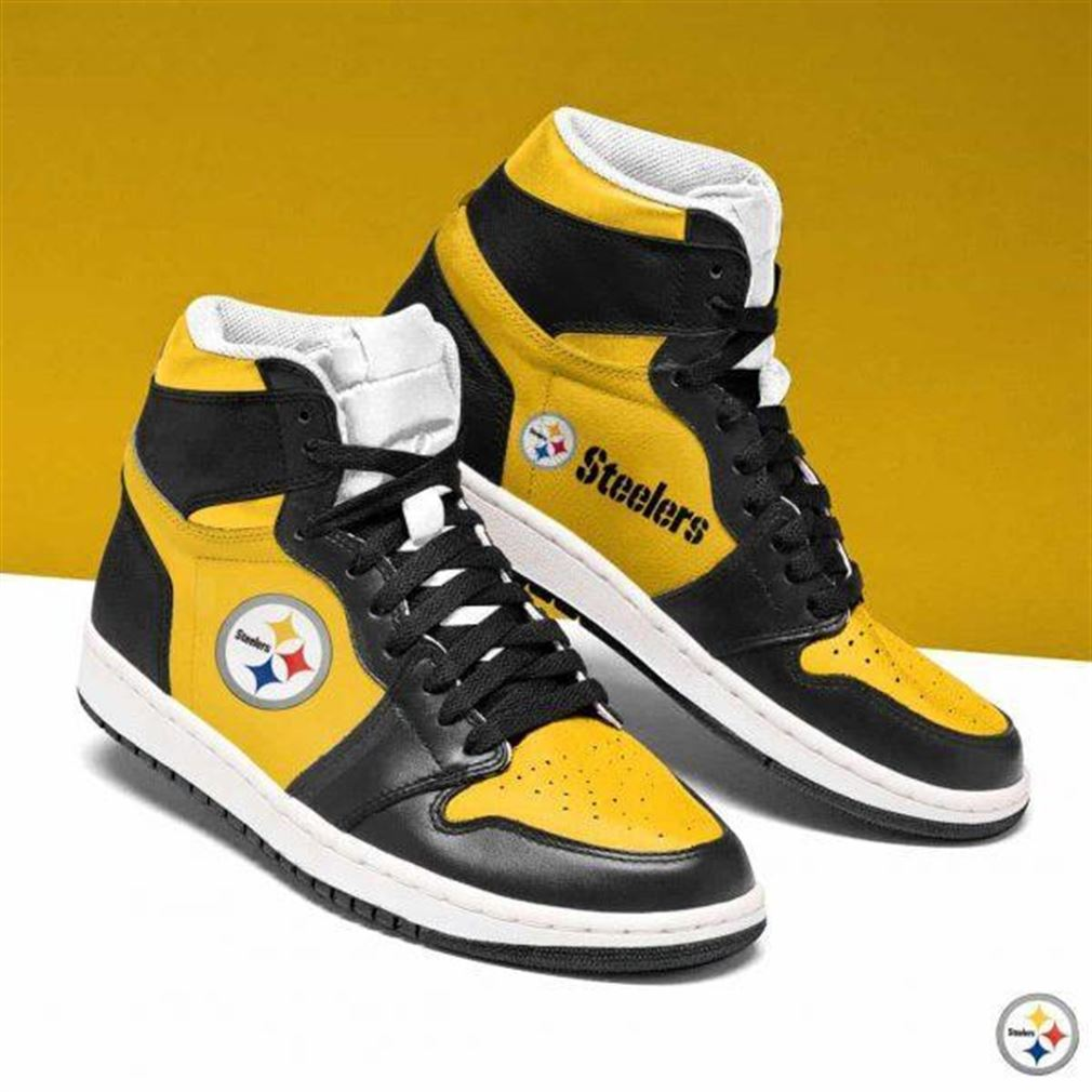 Pittsburgh Steelers Nfl Football Air Jordan Shoes Sport V8 Sneaker Boots Shoes
