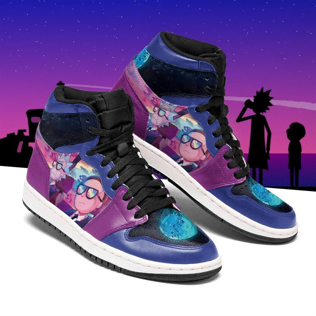 Rick And Morty Air Jordan Shoes Sport V2 Sneaker Boots Shoes