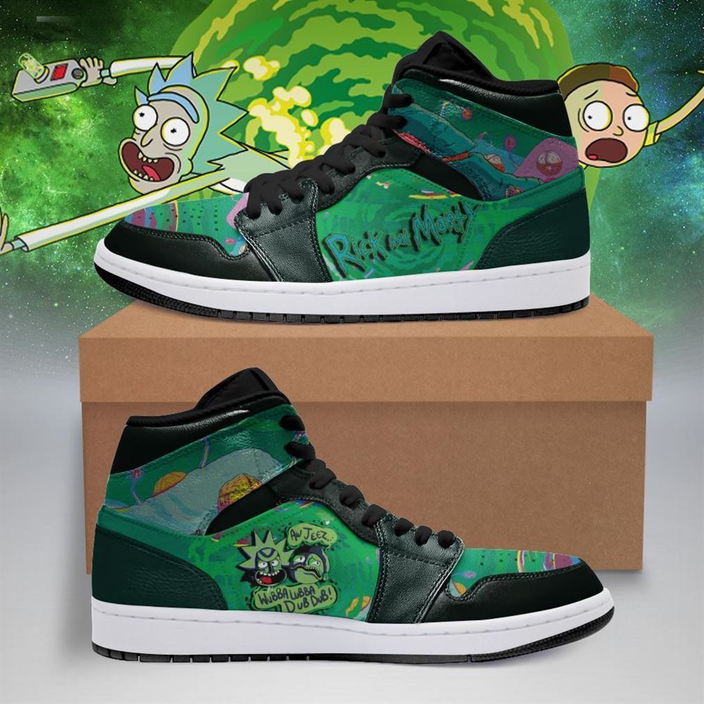 Rick And Morty Air Jordan Shoes Sport Sneaker Boots Shoes